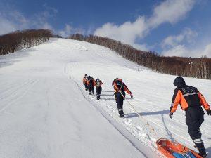 冬期雪山訓練