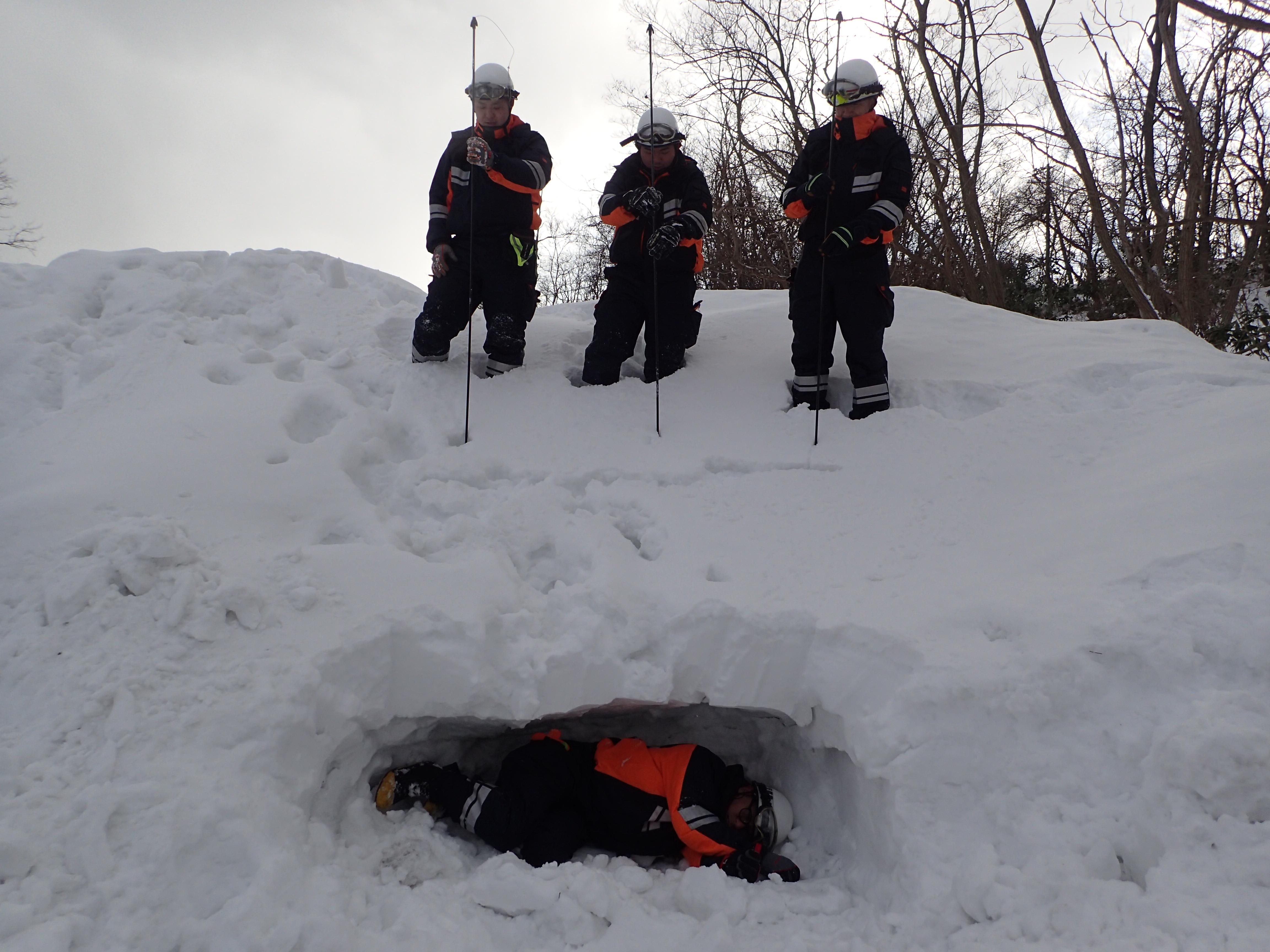 冬期雪山訓練1