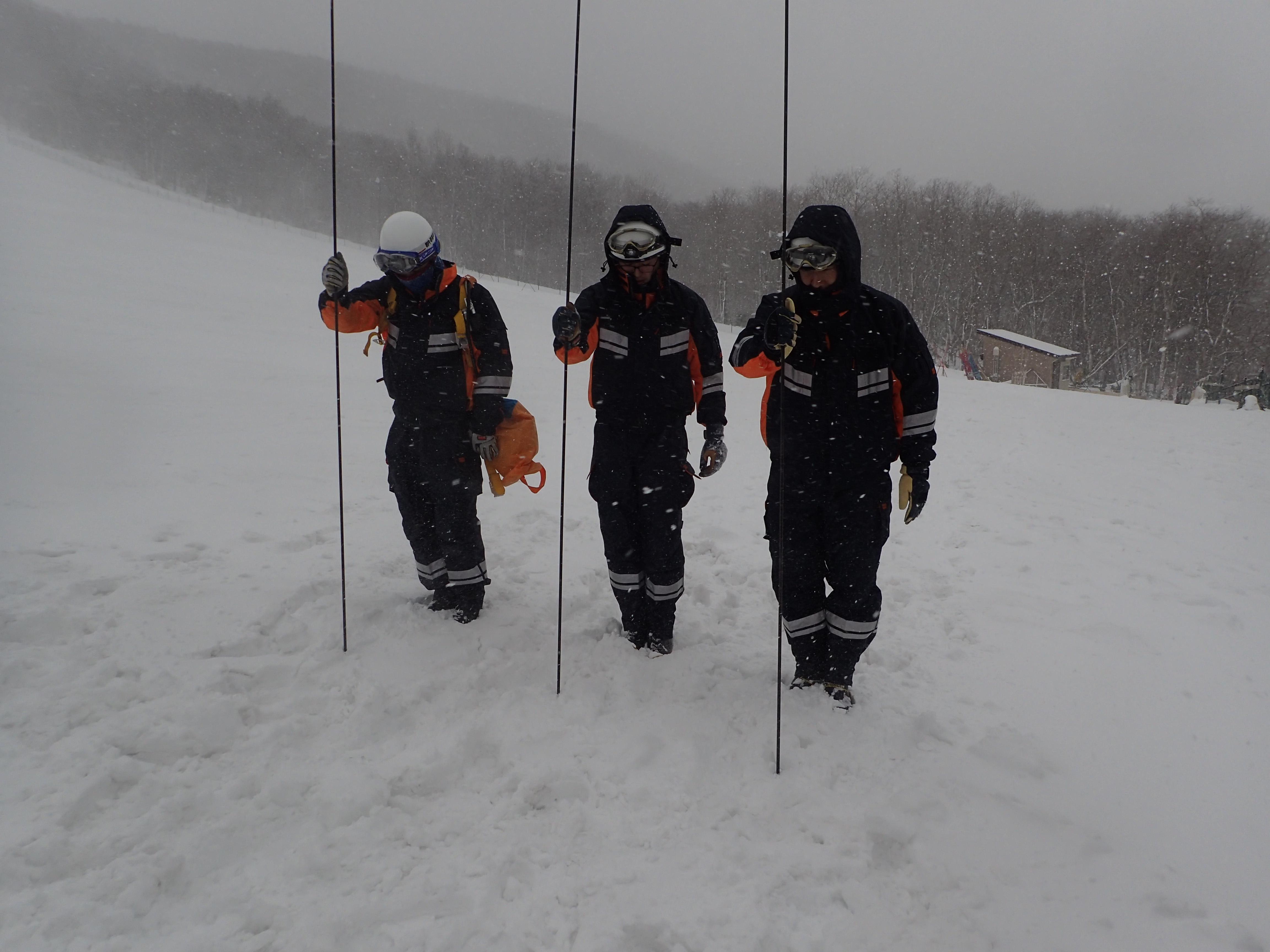 冬期雪山訓練2